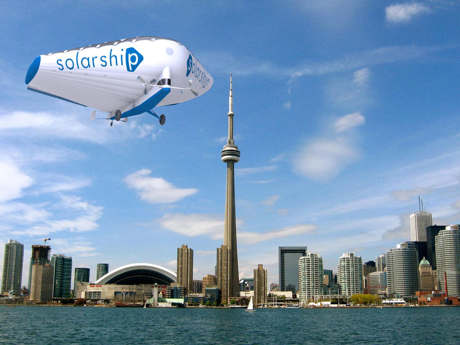 Solar Ship Caracal Toronto